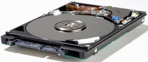 ремонтируем жёсткий диск ноутбука